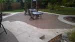 Exposed aggregate (Rocky Top) Patio